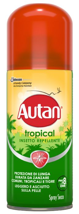 ANTIZANZARE AUTAN TROPICAL SPRAY 100ml 1pz SECCO - C12
