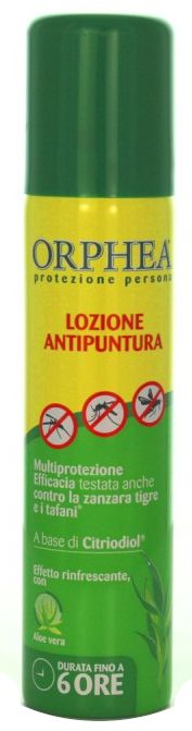 ANTIZANZARE ORPHEA ANTIPUNTURA LOZIONE 75ml SPRAY 1pz - C6