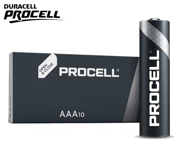 BATTERIE DURACELL PROCELL INDUSTRIAL MN2400 MINISTILO 1.5v 10pz
