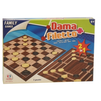 GIOCHI GIOCO DAMA E FILETTO
